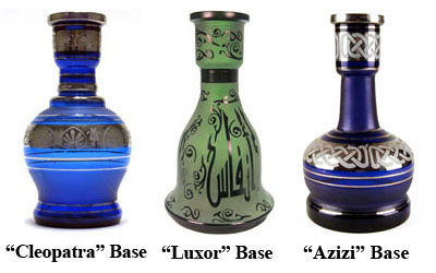 Azizi Hookah Base Options